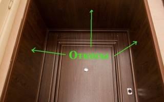 Как сделать облицовку входной двери?