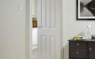 Как отреставрировать дверь из МДФ?