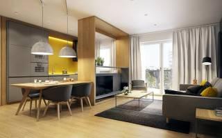 Большая кухня гостиная дизайн фото