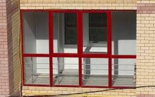 Витражный балкон дизайн