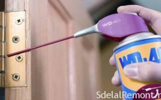 Почему скрипят петли на двери?