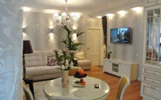 Дизайн бюджетной гостиной фото