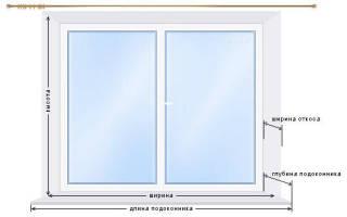 Как рассчитать размер жалюзи на окно