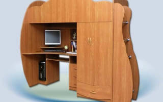 Шкаф секретер для школьника
