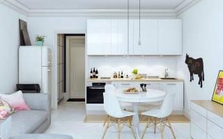 Дизайн гостиной 23 кв м