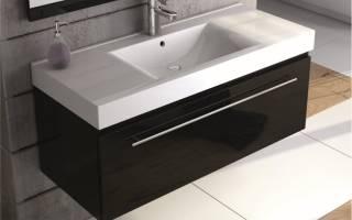 Как выбрать тумбу под раковину в ванную