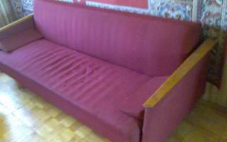 Почему проваливается диван?