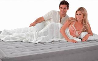 Как выбрать надувную кровать?