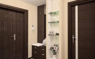 Как подобрать обои под светлые двери?
