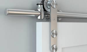 Как крепить пружину на дверь?