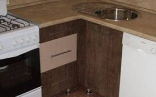 Уголок для кухонного шкафа как поставить?