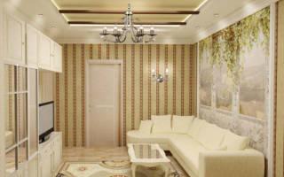 Дизайн гостиной 4 на 3