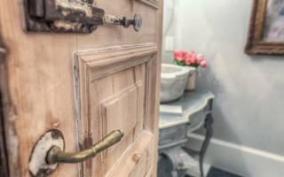 Как восстановить старую деревянную дверь?