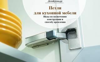 Петли для угловых кухонных шкафов