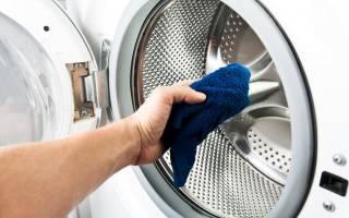 Как промыть барабан стиральной машины