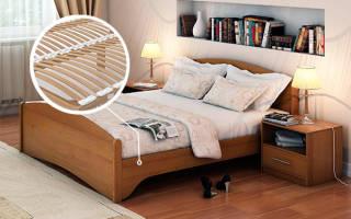 Сколько ламелей нужно на кровать?
