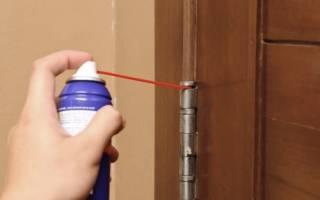 Как устранить скрип межкомнатной двери?