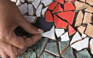Как сделать кухонный стол из плитки?