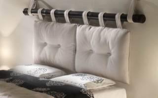 Как защитить обои от истирания возле кровати?