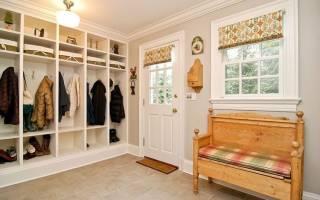 Как обустроить коридор в частном доме