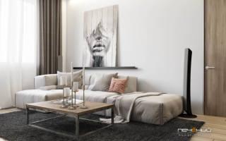 Готовые дизайны гостиной