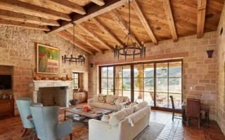 Как оформить балку на потолке в квартире