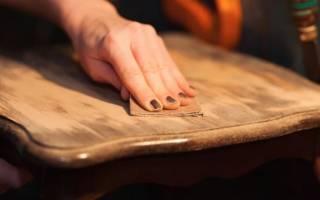 Как восстановить мебель из дерева?