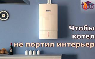 Можно ли прятать газовый котел в шкаф