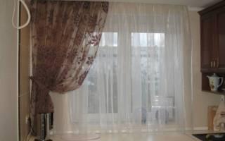 Как рассчитать длину тюли на окно