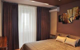 Как красиво повесить тюль в спальне