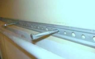 Как повесить кухонные шкафы на монтажную рейку