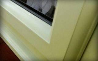 Как отмыть пластиковые окна от желтизны