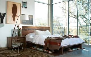 Из какой древесины делают кровать?