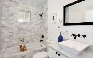 Ванная и туалет совмещенные фото дизайн