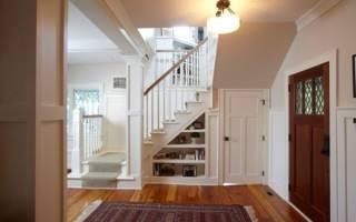 Как организовать пространство под лестницей
