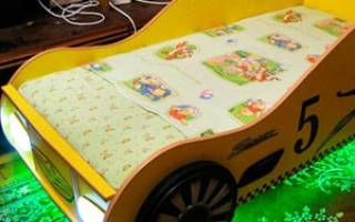 Кровать машинка для мальчика своими руками