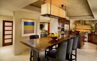 Как сделать стол из дерева для кухни?