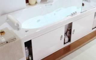 Как сделать под ванной раздвижные двери?