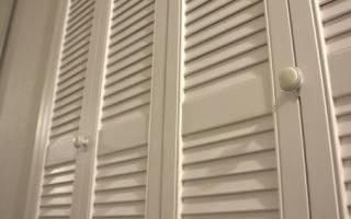 Жалюзийные дверки из МДФ