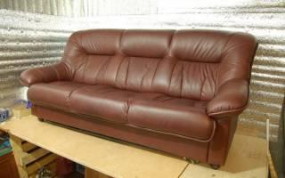 Обшивка мягкой мебели своими руками