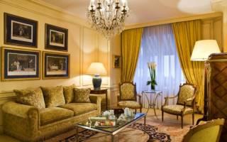 Дизайн гостиной в желтых тонах